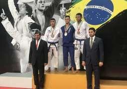 """13 ميدالية ملونة لأبطال الإمارات في اليوم الأول لجولة """"ريو جراند سلام"""" للجوجيتسو"""