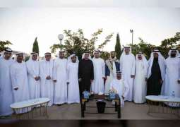 Saud bin Saqr attends ceremony organised by Sheikh Zayed Housing Programme