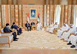 Mansour bin Zayed receives First Deputy Prime Minister of Tajikistan