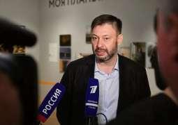Vyshinsky Says Handed OSCE's Desir List of Journalists Still Held in Ukrainian Prisons