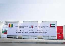 UAE supplies Guinea with 10,000-kilowatt generators