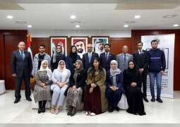 UAE Research Programme for Rain Enhancement Science delegation visits UAE Embassy in Seoul