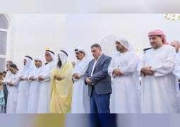 Ajman Ruler opens mosque in Al Nuaimia