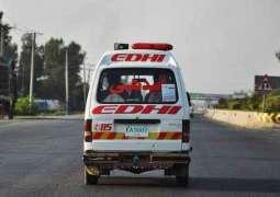 13 killed, 3 injured as passenger coach collides with rickshaw in Matiari
