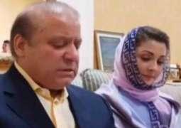 Sharif family moves application to govt for removal of Nawaz Sharif, Maryam Nawaz's names from ECL