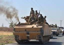 At Least 10 Protesters in Syria's Al-Malikiyah Tear-Gassed by Turkish Troops - SDF