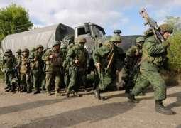 Militia of Donetsk People's Republic Starts Troops Disengagement Near Petrivske
