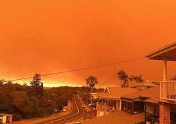 Australia bushfires: Two dead in New South Wales blazes