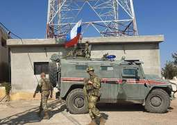 Russian Military Police Help Repair Water Station in Syria's Hasakah Province