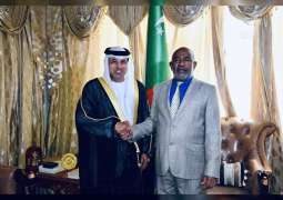 Comorian President receives UAE Ambassador