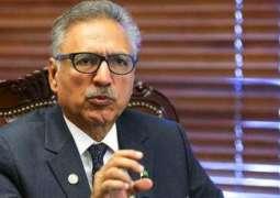 Pakistan proves that it is peace loving country : Arif Alvi