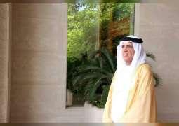 """سعود بن صقر يهنئ مدرسة """"الرمس للتعليم الأساسي"""" لوصولها إلى القائمة النهائية في تحدي القراءة العربي"""