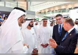 Mohammed bin Rashid visits ADIPEC 2019