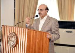 Pakistan loves peace but not oblivious of its defence, AJK President