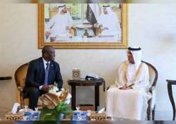 Saud bin Saqr receives Consul General of South Africa