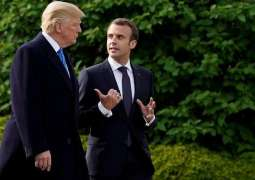 Trump, Macron Agree to Continue Coordination on Syria - White House