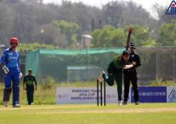 Pakistan beat Afghanistan by eight wickets in ACC Emerging Teams Asia Cup 2019