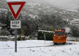 Number of Homes in France's Southeast Without Power Due to Snowfall Now 330,000 - Operator