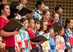 International Children's Choir fascinates visitors 'National Festival for Tolerance'