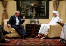 Abdullah bin Zayed receives Luxembourg FM