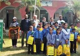 PTCL & WWF-Pakistan conduct Spellathon in less-privileged schools of Haripur District