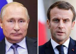 Putin Tells Macron About Return of 3 Warships Used in Kerch Strait Provocation to Kiev