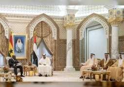 Mohamed bin Zayed holds talks with Ghanaian President