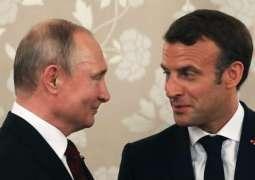 Putin, Macron Discussed Situation in Ukraine by Phone - Kremlin