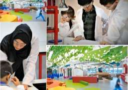Henkel's Forscherwelt Science Lab for children opens in Dubai's Children's City