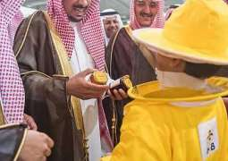 نيابة عن الأمير فيصل بن مشعل ..وكيل إمارة منطقة القصيم يرعى اليوم الذهبي لملتقى النحالين في نسخته الأولى