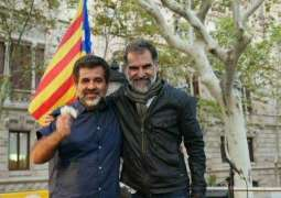 Human Rights Watchdog Calls for Release of Two Senior Catalan Pro-Independence Leaders