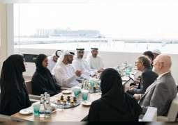 Mohamed bin Zayed receives Bill Gates
