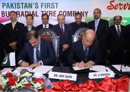 Pakistan And China's Major Tyre Companies Join Hands