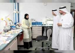 وكيل الصحة يتفقد مستشفى الفجيرة ومركز الأسنان