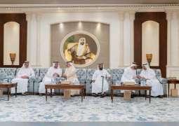 Mohamed bin Zayed receives condolences on death of Sultan bin Zayed