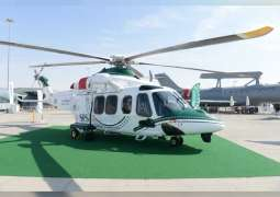 AW139 helicopter joins Dubai Police fleet of Aircraft