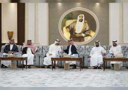 Mohamed bin Zayed continues accepting condolences on death of Sultan bin Zayed