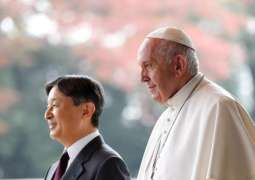 Pope Francis Meets Japanese Emperor Naruhito in Tokyo - Reports