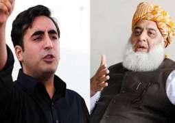 Bilawal Bhutto  to participate in  Maulana Fazal ur Rehman APC