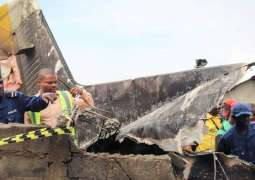 Plane crashes into homes in east DR Congo city, killing 26