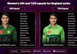 Pakistan squad for ICC Women's Championship against England announced