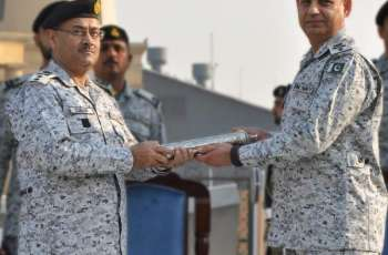 Rear Admiral Muhammad Zubair Shafiquetakes Over As Commander Central Punjab (COMCEP)