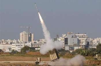 IDF Intercepts 20 Rockets Fired in Retaliation for Strike on Islamic Jihad Leader in Gaza