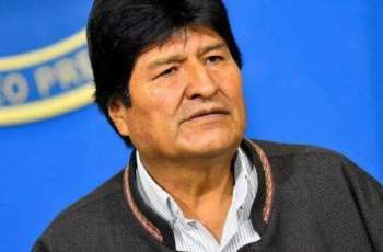 Bolivia's Morales to Arrive in Mexico City at 14:30 GMT - Mexican Foreign Ministry