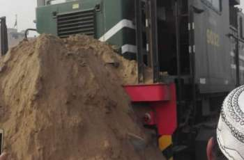 Karakarm Express slips from track, leaves several passengers injured