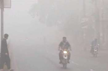 Another spell of smog engulfs Lahore