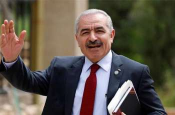 Palestinian Prime Minister Mohammad Shtayyeh Calls on Israel to Immediately Stop Airstrikes at Gaza