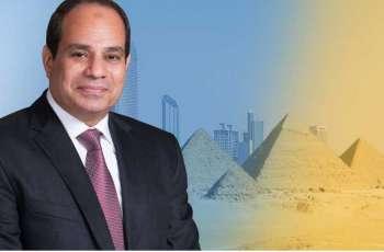الرئيس المصري يزور دولة الإمارات