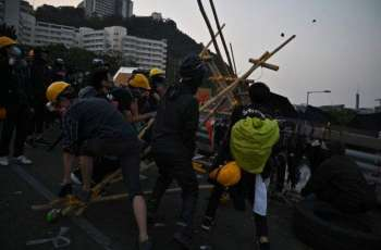 Chinese University of Hong Kong Cancels Remainder of Semester Amid Campus Riots