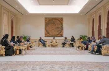 Sultan Al Qasimi meets with Sharjah triennial task force team